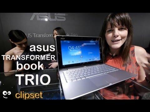 Asus Transformer Book Trio preview Computex Videorama