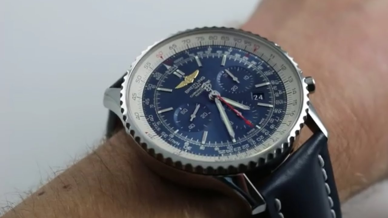 Breitling Navitimer 01 Ref Ab0127 Watch Review