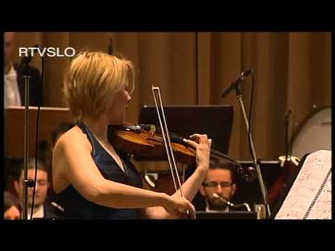 Ivo Petric Trois Images for violin and orchestra by Clara Cernat and Mario Formenti live