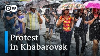 Anti-Putin protests in Russia's Khabarovsk spread to other cities | DW News