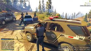 GTA 5 ROLEPLAY POLICIAL - TREMEU QUANDO A ROTA CHEGOU!