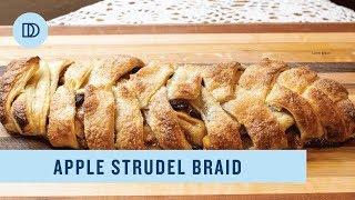 Apple Strudel Puff Pastry Braid