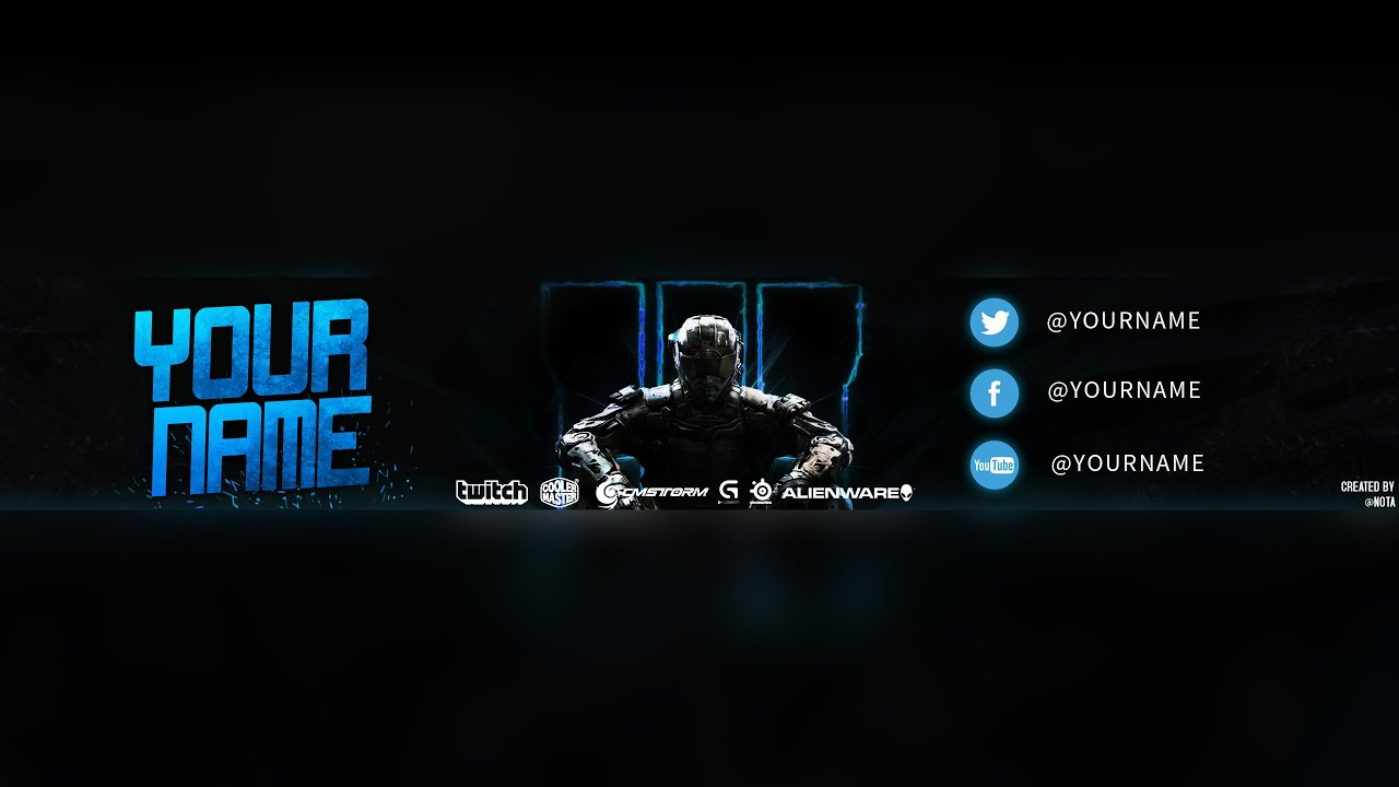 Make Your Own 3d Name Wallpaper Call Of Duty Black Ops 3 Youtuber Banner Timelapse Youtube