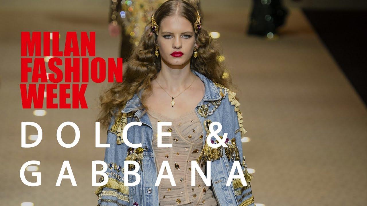 65ba1b2cf98ce El desfile de Dolce   Gabbana otoño-invierno 2018-2019 - YouTube