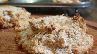 Organic & Gluten-free Coconut Cookies - Recipe