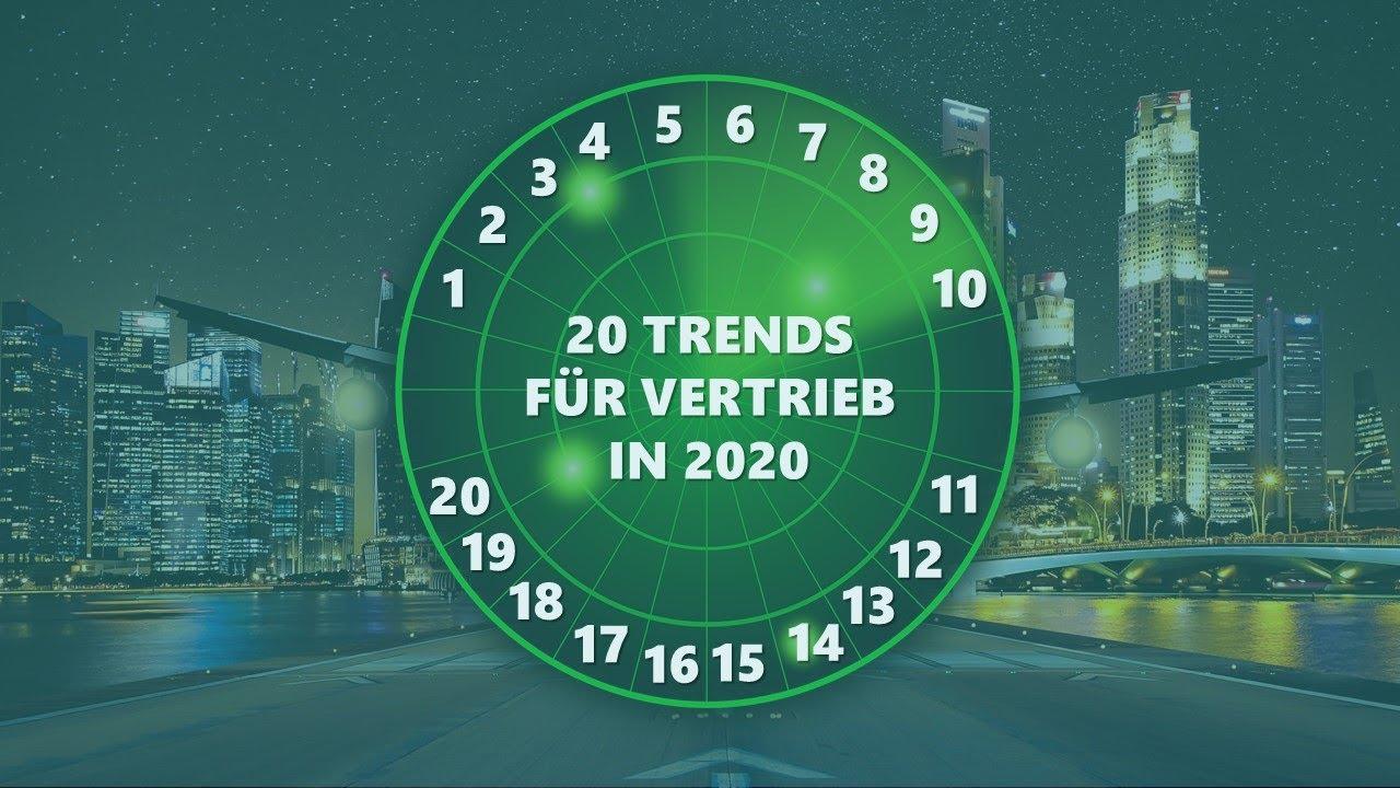 20 Trends für den Vertrieb in 2020 Webinar