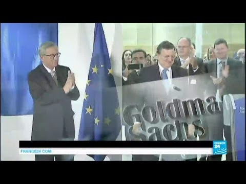 """José Manuel Barroso à Goldman Sachs : """"une trahison"""", """"un coup de poignard"""" pour l'UE"""