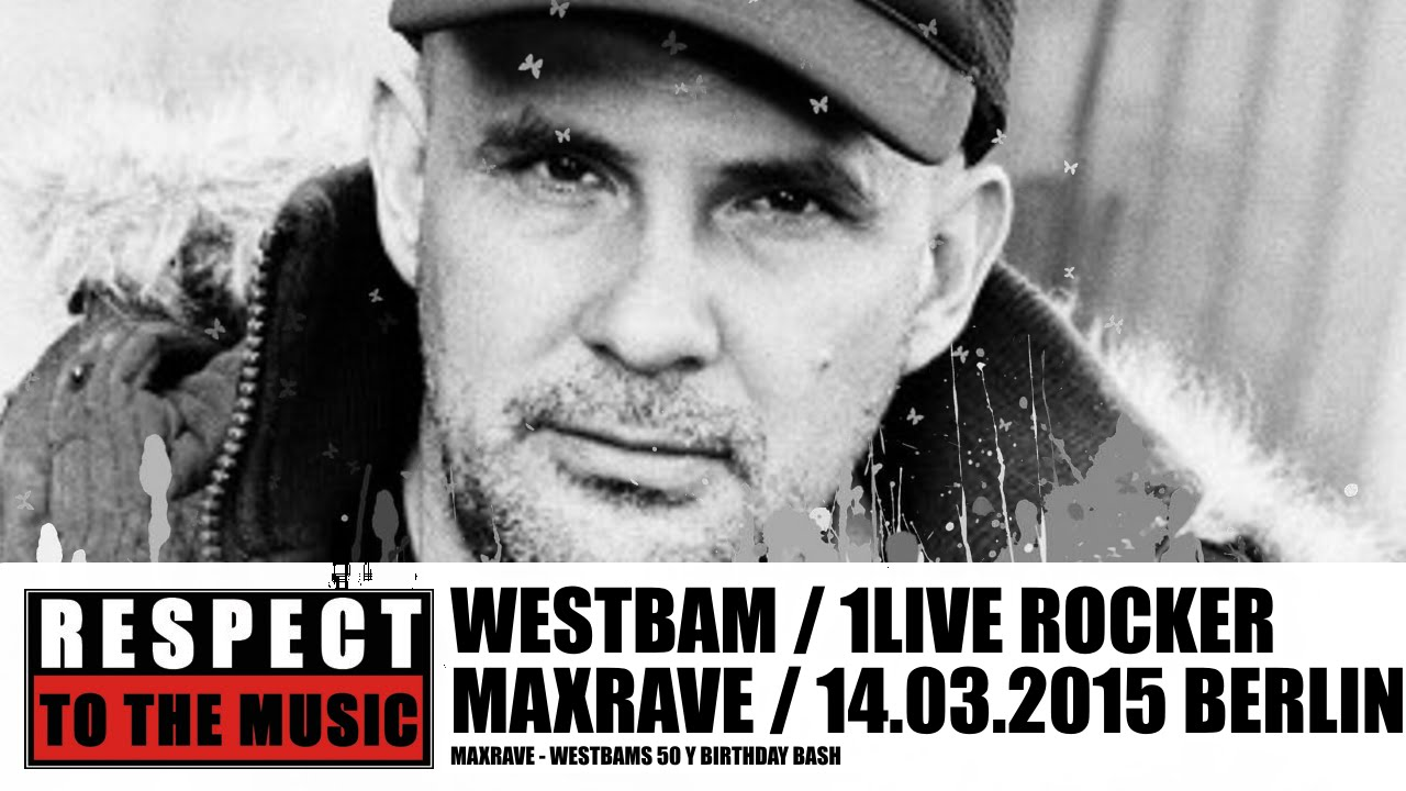 Endlos Halle Westbam @ Maxrave Columbia Halle In Berlin 14.03.2015