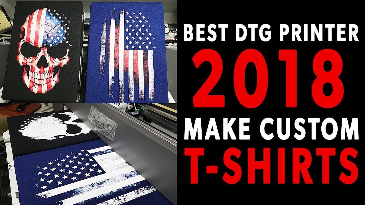 398c98af Best DTG Printer 2018 | Make Custom T-Shirts With DTG M2 - YouTube