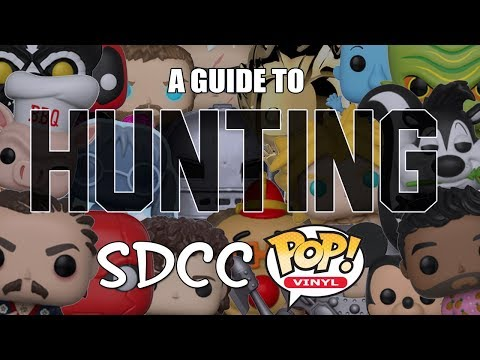 SDCC 2018 Funko POP Hunting Guide