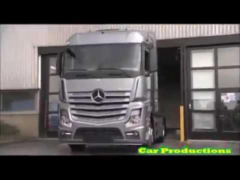 mercedes - benz | new actros Üretimi | - youtube