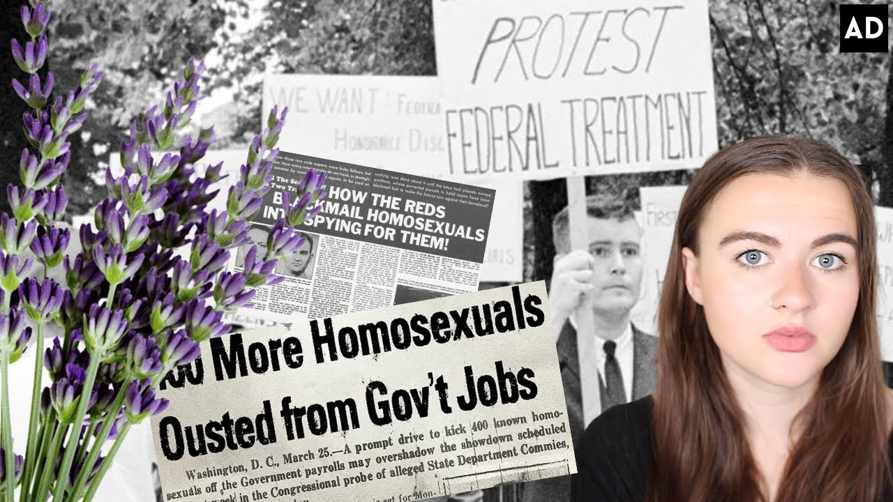WHAT WAS THE LAVENDER SCARE AND HOW DOES IT AFFECT YOU TODAY?