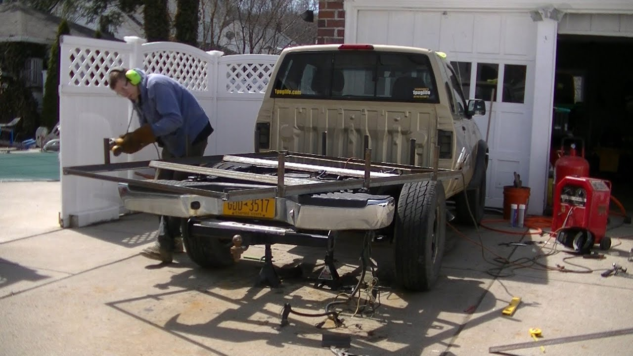 Building Custom Truck Bed - YouTube