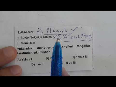 27 Soruluk KPSS Tarih Denemesi - Çözüm-Bilgi / Ali Hocadan - Sınava Uygun