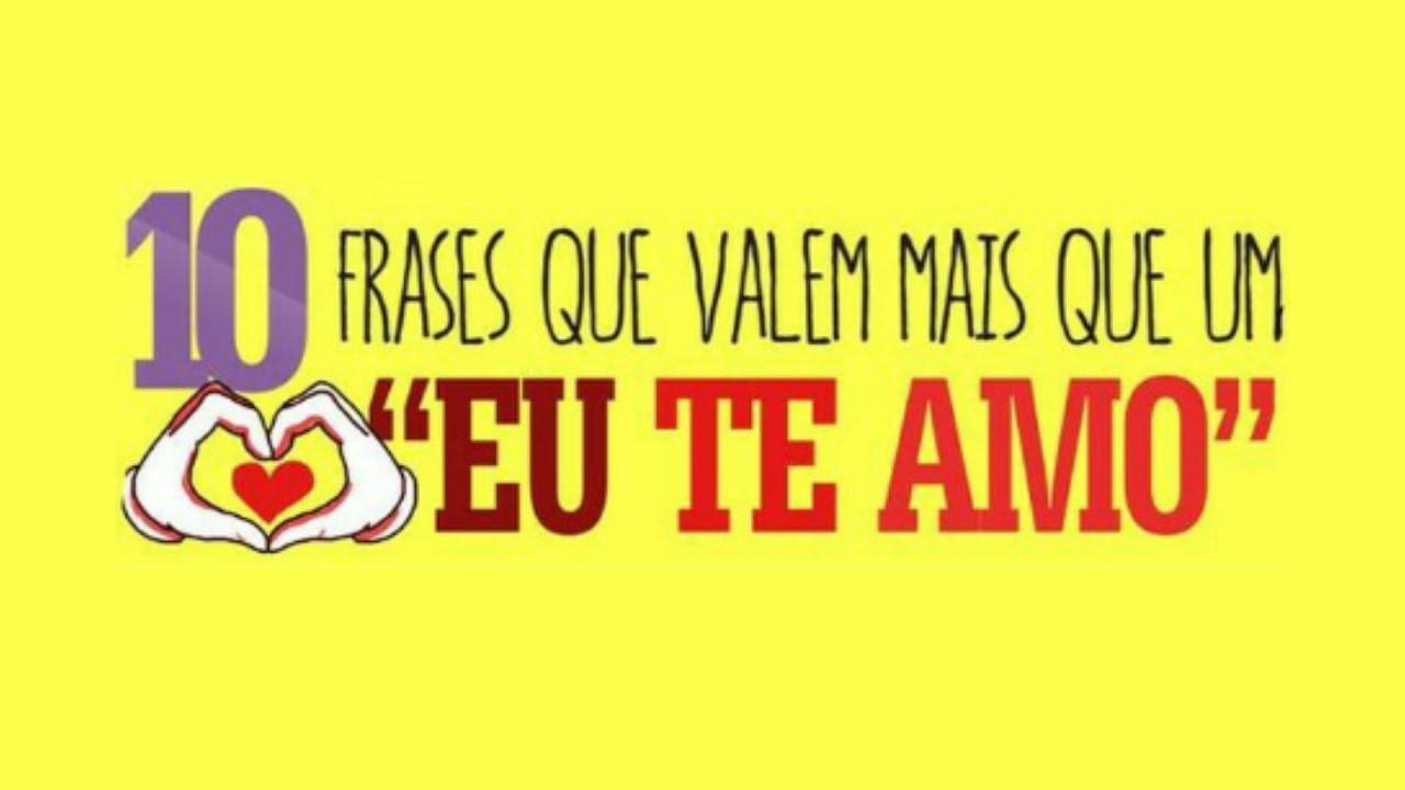 """10 Frases Que Valem Um """"Eu Te Amo"""""""