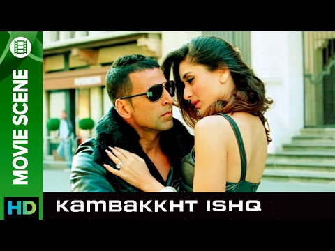 Feel the love | Kambakkht Ishq | Movie Scene