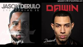 Download lagu Pull Up vs. Dessert - Jason Derulo & Dawin ( Mixed Mashup)