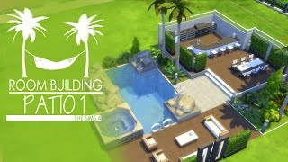 The Sims 4 - Room Build - Patio 1