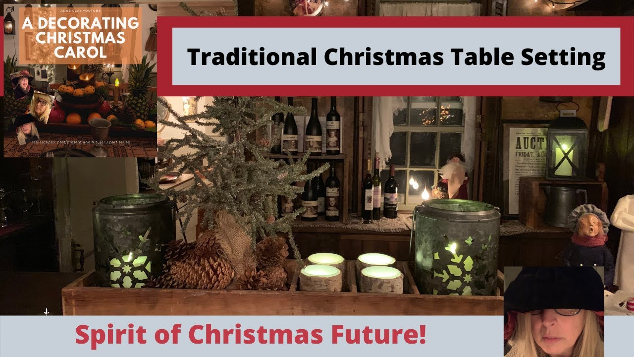 How to decorate your Holiday Table/Christmas Table Setting/ DIY Sugared Fruit/Part 3