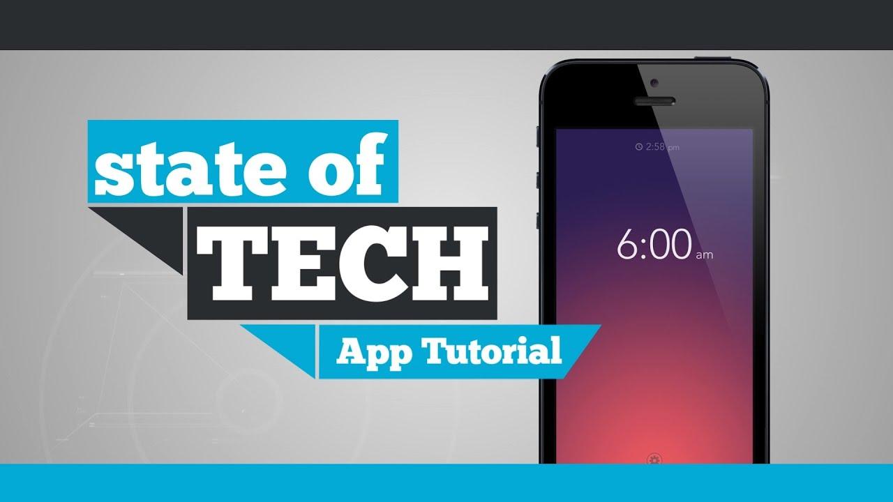 iPhone App Tutorial - Rise Alarm Clock App