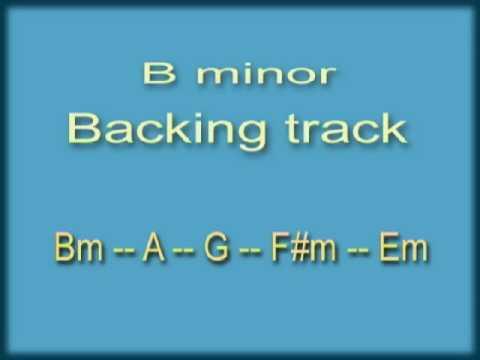 Bm backing track