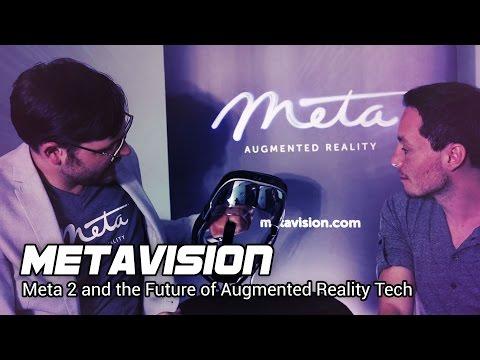 Meta Details the Meta 2 and the Future of Augmented Reality Tech (VRLA Expo 2016)