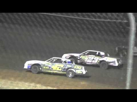 Ark La Tex Speedway USMTS Cajun Clash Factory Stock heat 3 saturday night 2/27/16