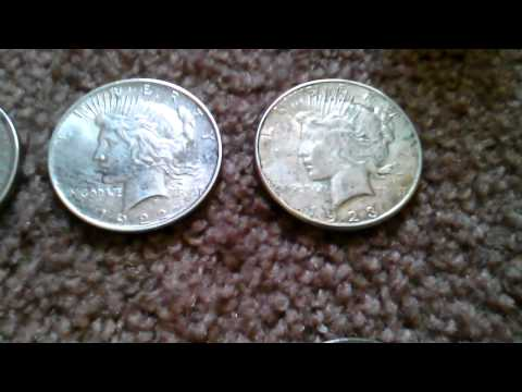 Old silver coins for sale