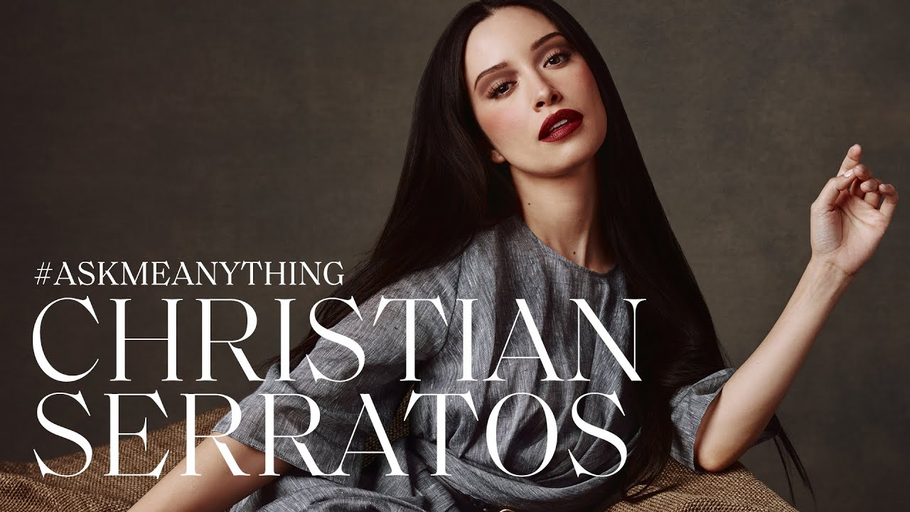 Christian Serratos on Red Lips, Dad Jokes, & Playing 'Selena' | Ask Me Anything