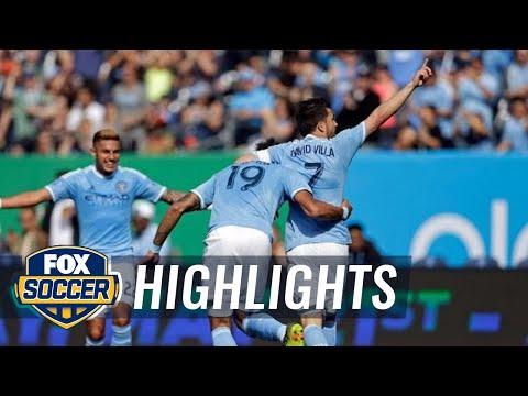 New York City FC vs. Vancouver Whitecaps | 2016 MLS Highlights