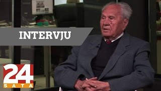 Josip Manolić slavi 97. rođendan i otkriva tajne svih režima! I 24sata intervju