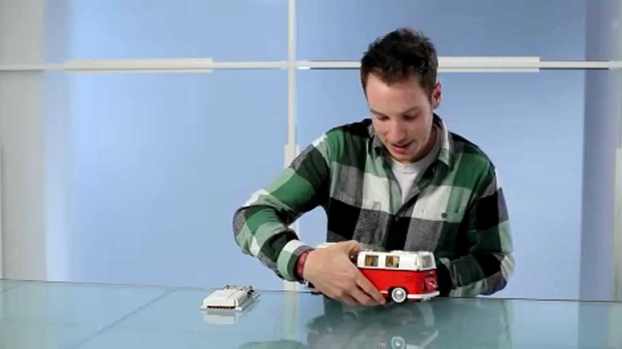 Lego 174 Volkswagen T1 Camper Van 10220 Youtube
