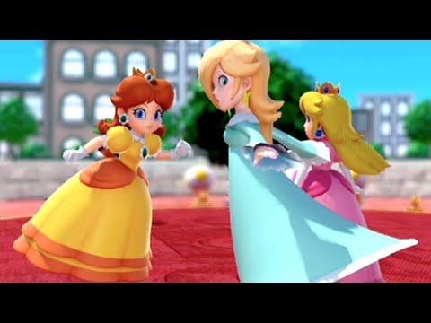 Super Mario Party Peach VS Daisy VS Rosalina (Square Off) |