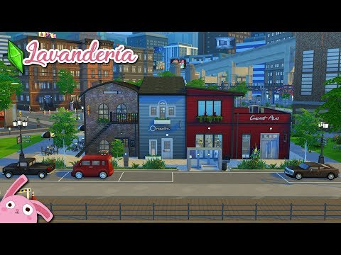 Una LAVANDERÍA para tus sims! Los Sims 4 | Speed Build (No CC)