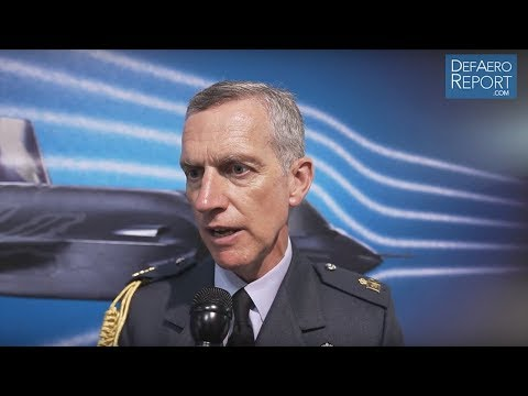 RAF's Hillier on Future Combat Air Strategy, More Capability