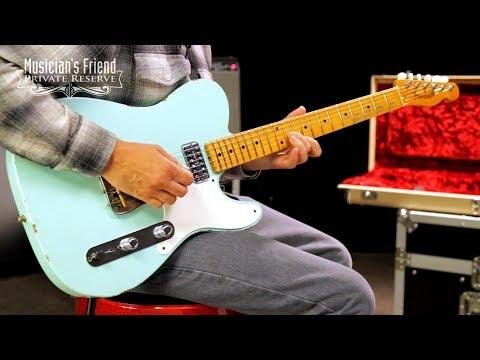 Fender Custom Shop Limited Edition Maple Fingerboard Relic Tele Caballo Tono Electric Guitar