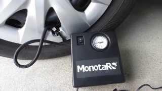 モノタロウ 12V用エアーコンプレッサー空気入れ コンプレッサー 検索動画 24