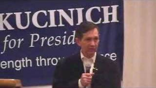 Rep. Dennis Kucinich will protect medical marijana patients Thumbnail
