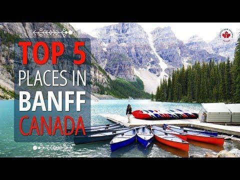 TOP 5 Places In Banff Canada You Must Visit   Travel Alberta   Lakes in Alberta