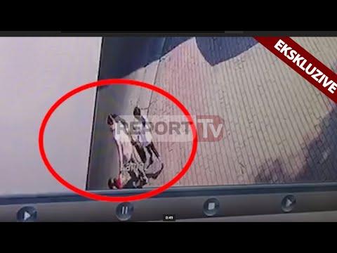 Report TV Ekskluzive/ Pamjet nga kamerat e sigurisë të aksidentit në Kamëz