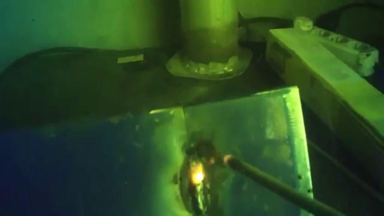 Сварка тонкого металла 1мм. электродами 3,2мм. и 2.6мм. Welding of thin metal 1mm .