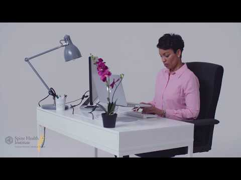 The Best Laptop Position For Your Back