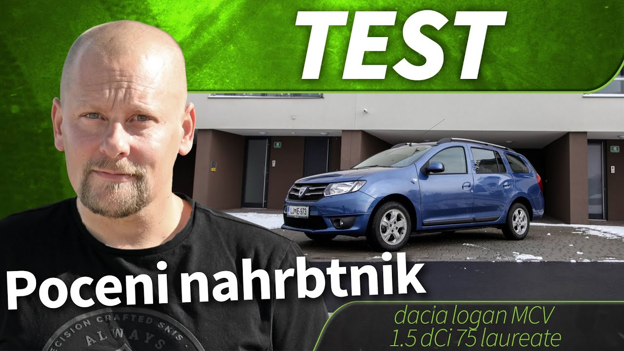 2015 dacia logan mcv 1 5 dci 75 laureate test youtube. Black Bedroom Furniture Sets. Home Design Ideas