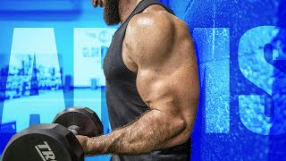 How To Get BIGGER ARMS FAST (Stop Resting!!) | Dumbbell Only Workout