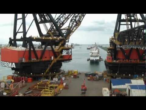 Heerma Thialf - The biggest crane in the world!