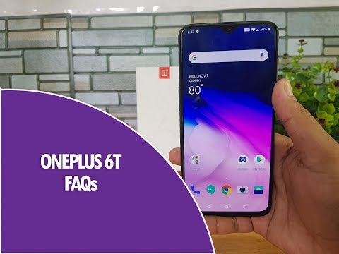 OnePlus 6T FAQs- Sensors, Dash Charging, LED Notification, Screen on Time, Software, USB OTG & More