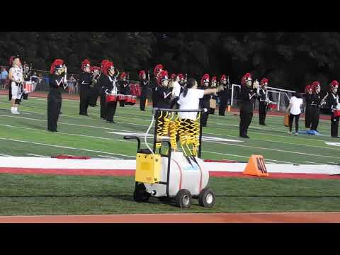 Carl Junction High School Band Football Game 8/29/19