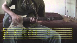 White Rabbit by Egypt Central Guitar Tutorial