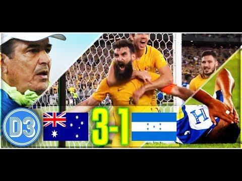 AUSTRALIA 3-1 HONDURAS | Los Catrachos se quedan sin Mundial | Resumen COMPLETO ★ D3D2