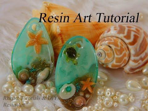 Ocean from Resin - Turtle in Resin - Starfish in Resin - DIY Aquarium with Resin